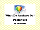 Writing Posters: What do authors do?