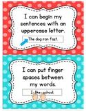 Writing Posters and Student Checklist (Polka Dot)