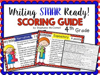 Writing Posters and Student-Friendly Rubric for Expository & Narrative