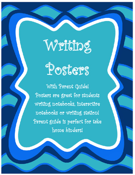 Writing Posters with Parent Guide