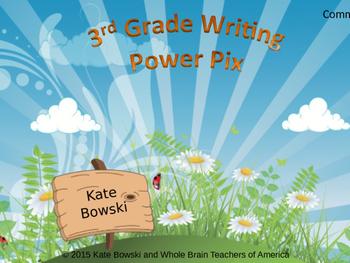Writing Power Pix - 3rd Grade