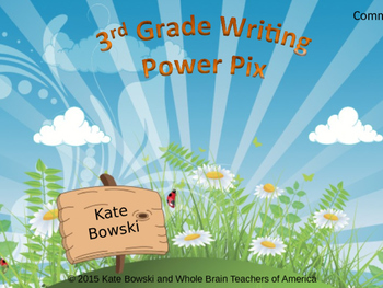 Writing Power Pix - 3rd Grade