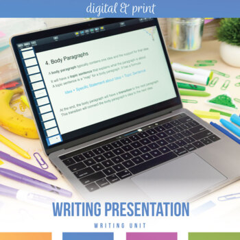 Writing Power Point for Secondary Students