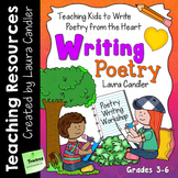 Poetry Writing Lessons, Activities, and Printables