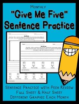 Sentence Writing and Editing