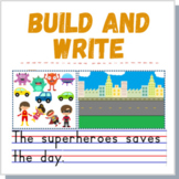 Writing Activity Fantasy BOOM CARDS Distance Learning