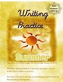 Writing Practice - Cursive - Summer Booklet