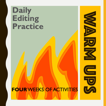 Writing Bell-Ringers:  Daily Editing Warm-Ups