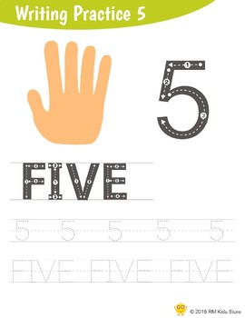 Writing Practice Number 5
