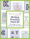 Writing Practice Pack #2 for Preschool, PreK, Kindergarten