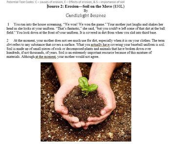Writing Practice Set: Erosion
