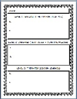 Writing Practice-Story & Poetry Analysis Graphic Organizers 62 Pages
