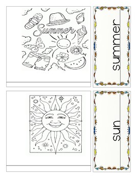 Writing Practice - Summer Booklet