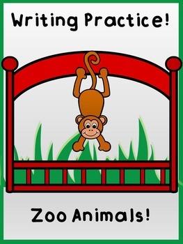 Writing Practice: Zoo Animals!