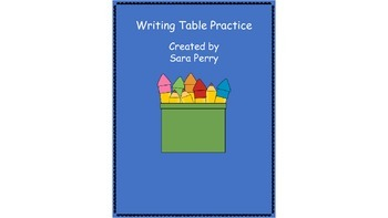 Writing Center or Substitute Writing Activities