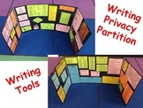 WRITING Privacy Partition Shield Tools Synonyms, Parts of