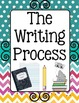 Writing Process Classroom Decor Poster Set