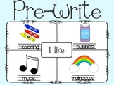 Writing Process {4-square template included}