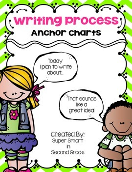 Writing Process Anchor Charts Melonheadz Version