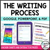 Writing Process Anchor Charts and Student Writing Process Pages