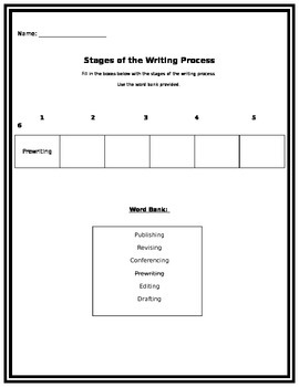 Writing Process Assessment