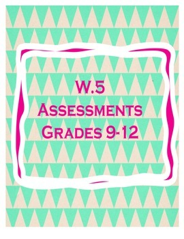 Writing Process Assessments