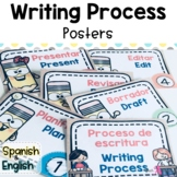 Writing Process Posters for Effective Writers Workshop (Bi