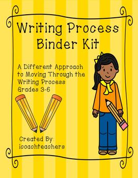 Writing Process Binder Kit: Literally Moving Through the Process