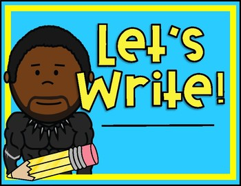 Writing Process - Black Panther