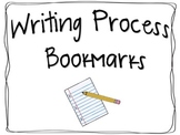 Writing Process Bookmarks
