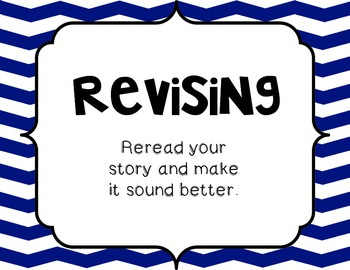 Writing Process - Bright Chevrons