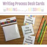 Writing Process Cards (for Adhesive Target Pocket Labels)