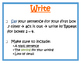 Writing Process Chart