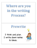 Writing Process Chart