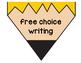 Writing Process Chart Pencil