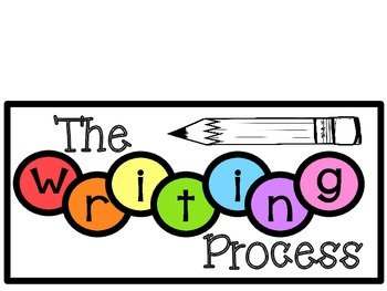 Writing Process Chart (Rainbow)