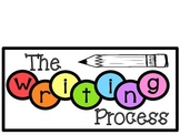 Writing Process Chart (Rainbow)