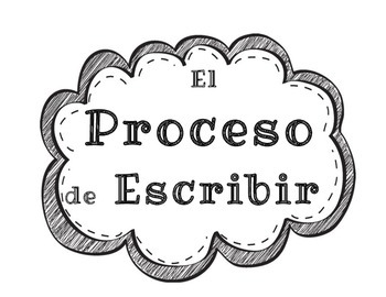 Writing Process Chart (Spanish)