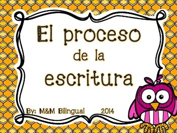 Writing Process Chart *Spanish Version*