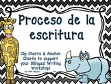 Writing Process Chart *Spanish Version - Animal Theme*