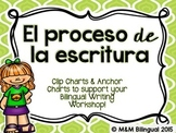 Writing Process Chart *Spanish Version - Kids Theme*