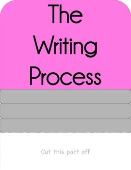 Writing Process Chart for Lower Grades