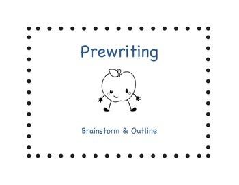 Student Writing Process Chart