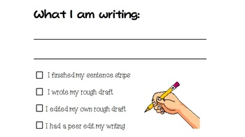 Writing Process Checklist for Students