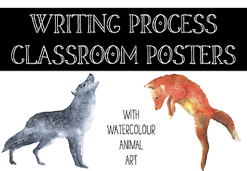 Writing Process Classroom Posters