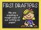 Writing Process Clip Chart {Chalkboard and Chevron Classroom Decor Theme}