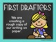 Writing Process Clip Chart {Teal and Chalkboard Classroom