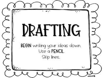 Writing Process Bulletin Board Kit
