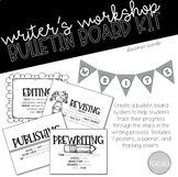 Writing Process Bulletin Board Posters Bundle 1