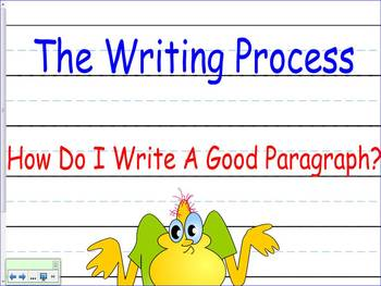Writing Process First Grade 1 Lesson